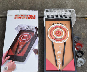 Sudsball sling shot drinking game - Wilder Party
