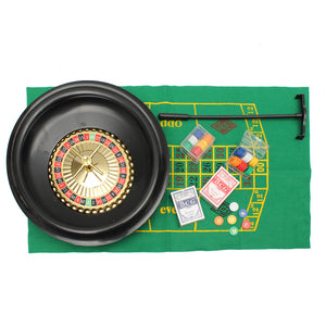 Casino roulette game set - Wilder Party