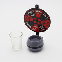 Shot glass spin drinking game - Wilder Party