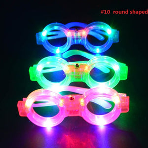 Rave flashing glasses collection x20 - Wilder Party