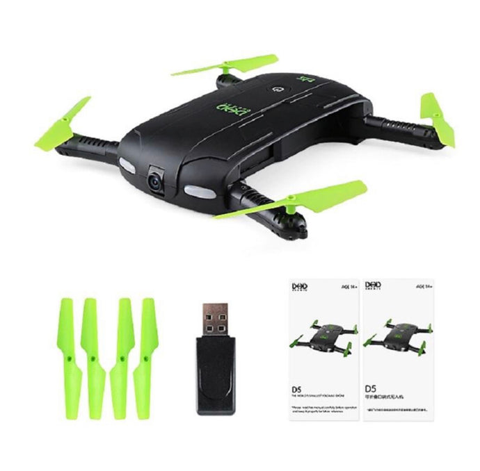 JJRC DHD D5 Selfie FPV Drone With HD Camera Foldable RC Pocket Drones