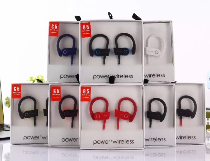 G5 Power3 Wireless Headphones