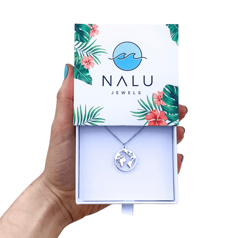 Nalu Jewels World Necklace One Size Fits All