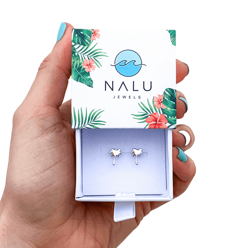 Nalu Jewels Palm Tree Earrings