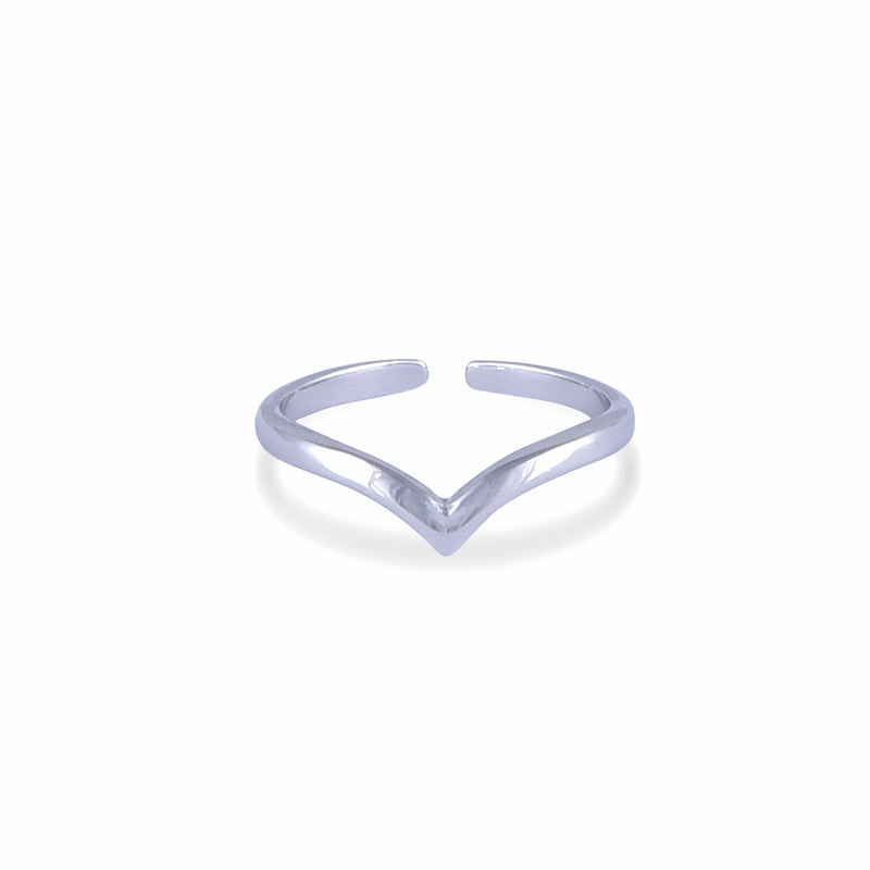 Nalu Jewels Peak Ring Adjustable