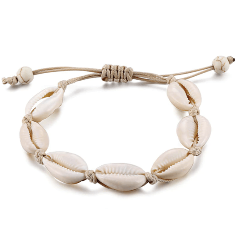 Nalu Jewels Cowrie shell Anklet Adjustable