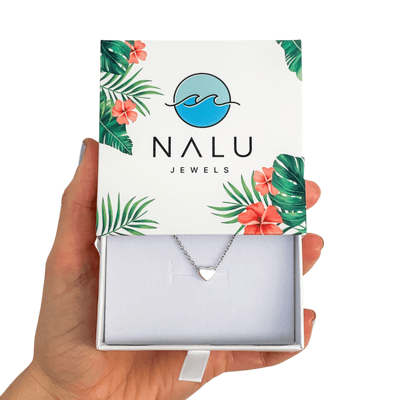 Nalu Jewels Love Heart Necklace