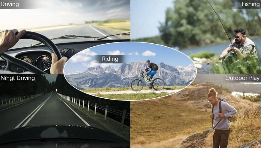 Polarized Photochromic Sunglasses - Best price at Eat All Fashion