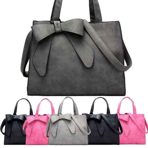 Women Handbags Large Capacity Nubuck Leather Crossbody Bag Elegant Tote Ladies Package Messager Bag