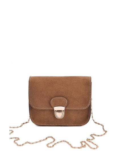 Flap Chain Bag Material Suede