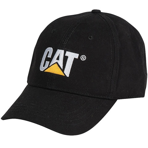 CAT PW01791 TRADEMARK BLACK CAP - REDZ WORKWEAR + TOOLS NORTH LAKES