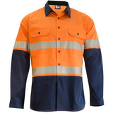 KM M2331T TAPED SHIRT L/S - REDZ WORKWEAR
