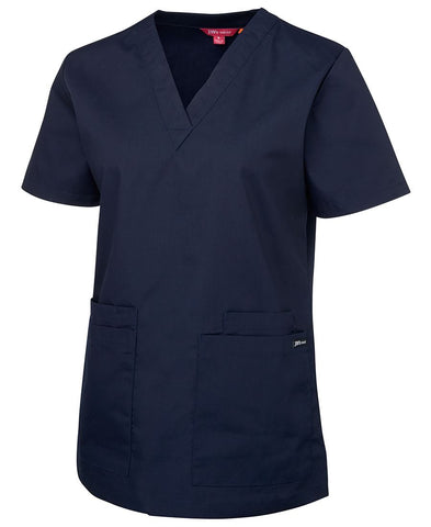 JB'S 4SRT1 LADIES SCRUBS TOP  - REDZ WORKWEAR