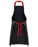 JB'S 5ACS Apron with Colour Straps 86x93 - REDZ Workwear