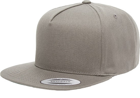FLEXFIT 6007 CLASSIC 5 PANEL CAP GREY - REDZ WORKWEAR + TOOLS NORTH LAKES
