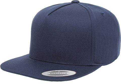 FLEXFIT 6007 CLASSIC 5 PANEL CAP NAVY - REDZ WORKWEAR + TOOLS NORTH LAKES