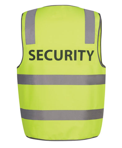 JB'S 6DNS5 HI VIS D+N SAFETY VEST SECURITY - REDZ WORKWEAR + TOOLS NORTH LAKES