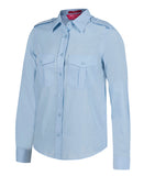 JB'S 6ESL1 EPAULETTE SHIRT LADIES L/S 3 GREAT COLOURS - REDZ WORKWEAR + TOOLS NORTH LAKES