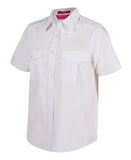 JB'S 6ESS1 EPAULETTE SHIRT LADIES S/S 3 GREAT COLOURS - REDZ WORKWEAR + TOOLS NORTH LAKES