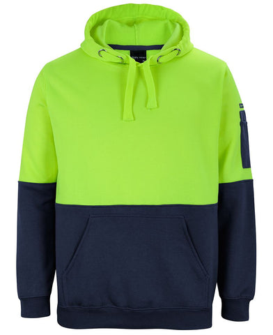 JB'S 6HVPH HI VIS PULL OVER HOODIE - REDZ WORKWEAR + TOOLS NORTH LAKES