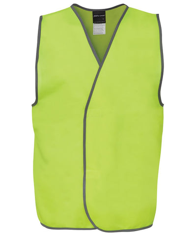 JB 6HVS HIVIS SAFETY VEST - REDZ WORKWEAR + TOOLS