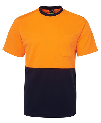 JB 6HVT HIVIS TEE S/S - REDZ WORKWEAR + TOOLS NORTH LAKES
