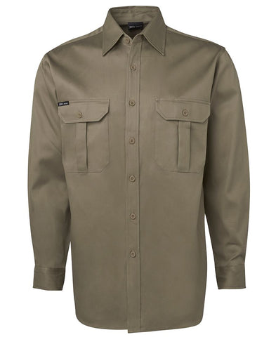 JB 6WLS HEAVYWEIGHT L/S - REDZ WORKWEAR + TOOLS NORTH LAKES
