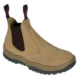 MONGREL 916040 NON-SAFETY ELASTIC SIDED BOOT - WHEAT