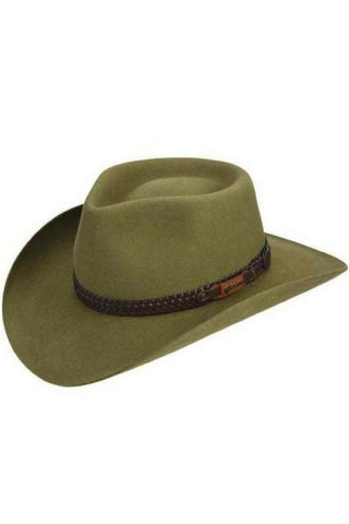 AKUBRA  SNOWY RIVER SANTONE - REDZ WORKWEAR + TOOLS NORTH LAKES