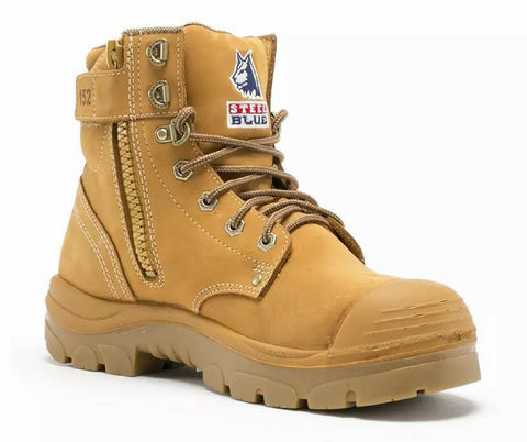STEEL BLUE 332152 ARGYLE ZIP SIDE BUMP CAP WHEAT - REDZ WORKWEAR + TOOLS NORTH LAKES
