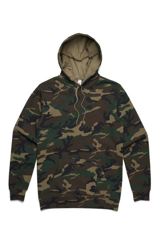 AS COLOUR 5102C MENS CAMO STENCIL HOOD - REDZ WORKWEAR