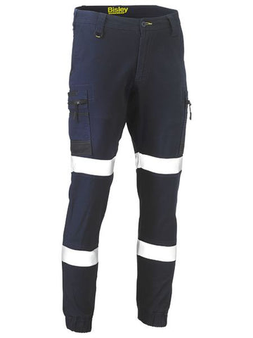 BISLEY BPC6334T - FLEX & MOVE™ TAPED STRETCH CARGO CUFFED PANTS