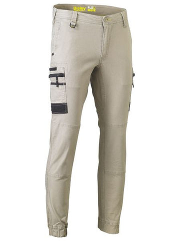 BISLEY  FLEX & MOVE™ STRETCH CARGO CUFFED PANTS
