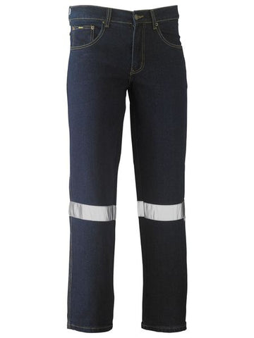 BISLEY TAPED ROUGH RIDER STRETCH DENIM JEANS - REDZ WORKWEAR + TOOLS NORTH LAKES