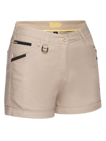BISLEY BSHL1045 Women's Flex & Move™ Short Short - REDZ Workwear
