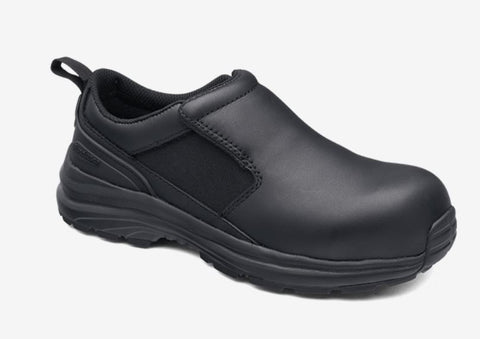 BLUNDSTONE 886 LADIES SLIP ON SAFETY SHOE - REDZ workwear