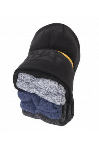 CAT BEANIE & SOCK PACK 1490049000 - REDZ WORKWEAR + TOOLS NORTH LAKES