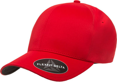 FLEXFIT DELTA CAP RED - REDZ WORKWEAR + TOOLS NORTH LAKES