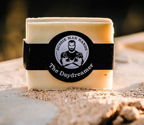 AUSSIE MAN HANDS - SOAP BAR - THE DAYDREAMER
