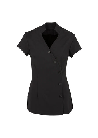 BIZ H134LS LADIES ZEN CROSSOVER TUNIC - REDZ WORKWEAR + TOOLS NORTH LAKES