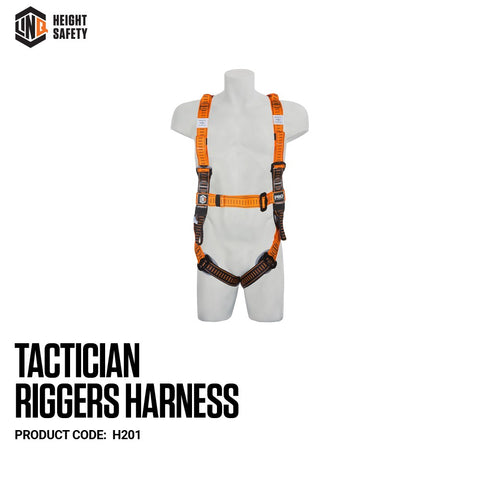 LINQ H201 HARNESS - TACTICIAN RIGGER - REDZ WORKWEAR + TOOLS NORTH LAKES