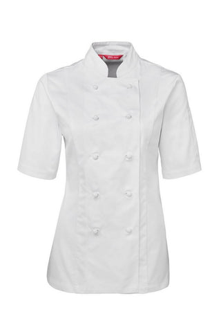 JB 5CJ21 CHEFS JACKET LADIES - REDZ WORKWEAR + TOOLS NORTH LAKES