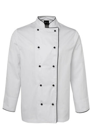 JB'S 5CJ UNISEX CHEFS JACKET L/S - REDZ WORKWEAR + TOOLS NORTH LAKES