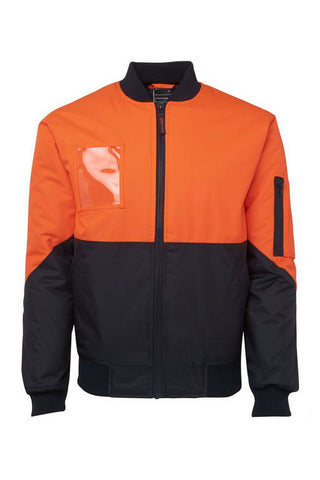 JB 6HVFJ HIVIS FLYING JACKET - REDZ WORKWEAR + TOOLS NORTH LAKES