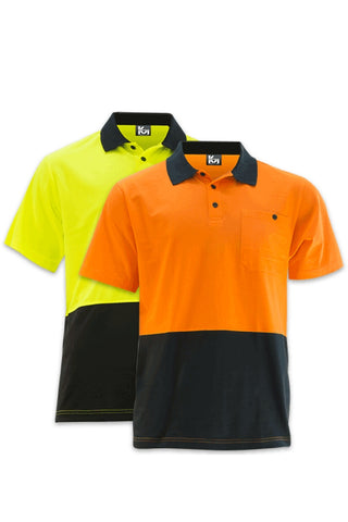 KM M1121N S/S POLO - REDZ WORKWEAR + TOOLS