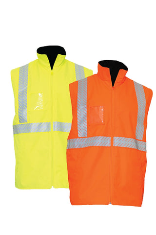 KM M5111T REVERSIBLE VEST - REDZ WORKWEAR + TOOLS