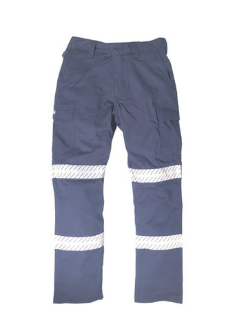 KM M8224T DOUBLE TAPED DRILL CARGO PANT
