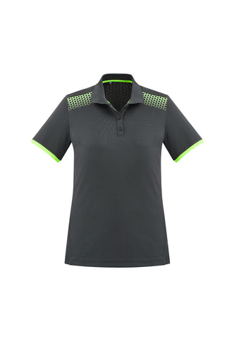 BIZ COLLECTION GALAXY POLO P900LS LADIES 9 COLOURS - REDZ WORKWEAR + TOOLS NORTH LAKES