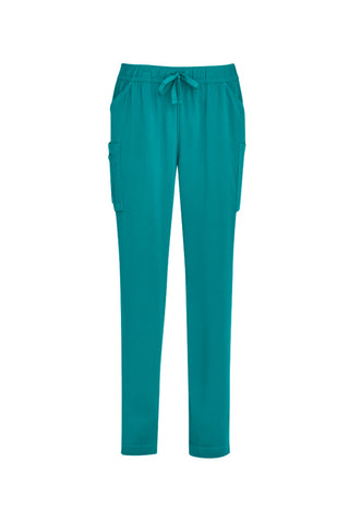 BIZCARE CSP943LL LADIES SLIM LEG SCRUB PANT 4 COLOURS - REDZ WORKWEAR + TOOLS NORTH LAKES