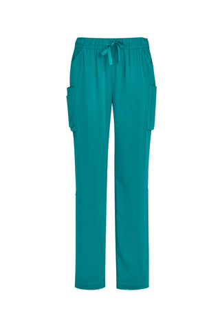 BIZCARE CSP944LL LADIES STRAIGHT LEG SCRUB PANT 4 COLOURS - REDZ WORKWEAR + TOOLS NORTH LAKES